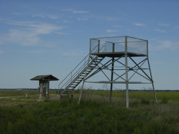 Cheyenne Bottoms observation tower