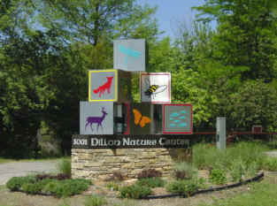 Dillon entry sign