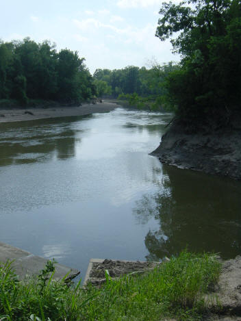 View of the Neosho River