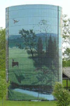 Local wildlife mural
