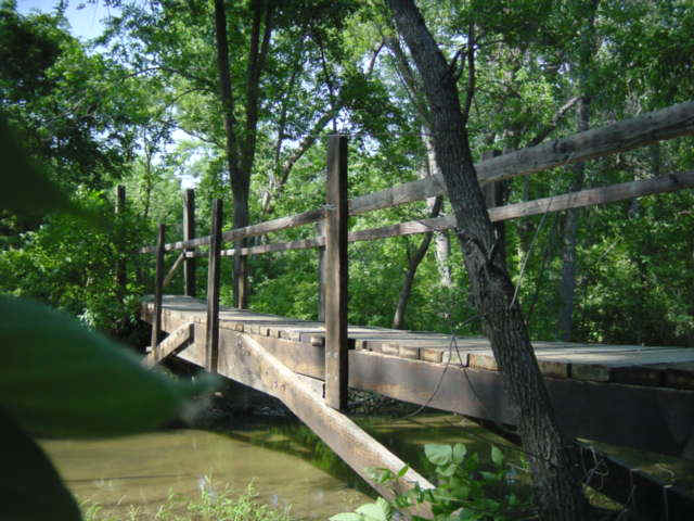 Bridge over Bluff Creek