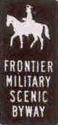 Frontier Military Scenic Byway logo